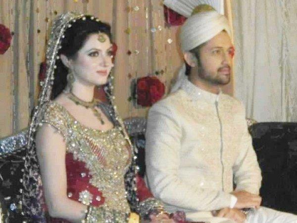 Mehwish and atif wedding